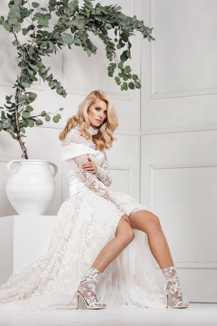 Fashion Campaign - Bojana Ugresic - Collection: Touch Of Heaven 2019/20 by Rale Radovic - Inspire-Shoots